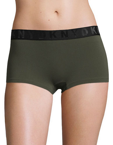 Dkny Seamless Litewear Hipster Panties-MILITARY-Small