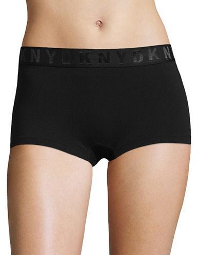 Dkny Seamless Litewear Hipster Panties-BLACK-X-Large