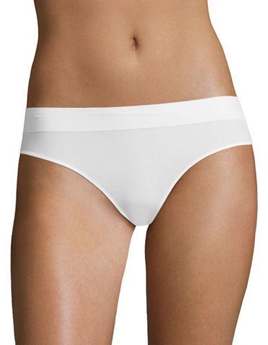 Dkny Seamless Litewear Bikini Bottoms-WHITE-Small