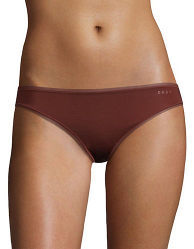 Dkny Litewear Bikini Briefs-RUST-Medium