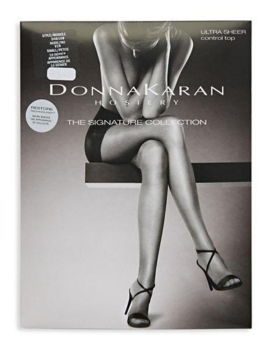 Donna Karan Ultra Sheer Control Top-NUDE-Medium