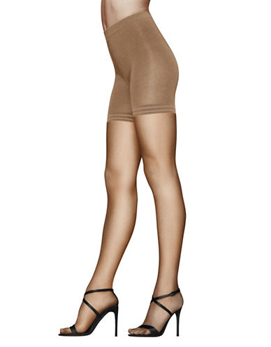 Donna Karan High-Rise Pantyhose-NUDE-Medium