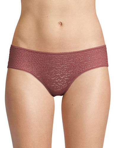 Dkny Modern Lace Hipsters-ROSEWOOD-Large