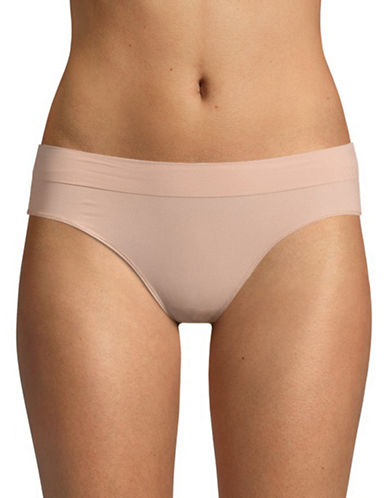 Dkny Seamless Litewear Cotton Bikini Bottom-SHELL-Medium