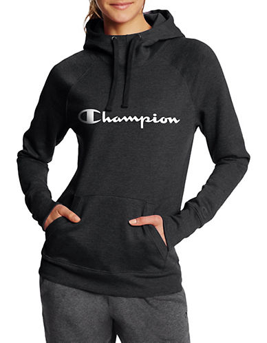 Champion Graphic Fleece Pullover Hoodie-BLACK-X-Large 90026547_BLACK_X-Large