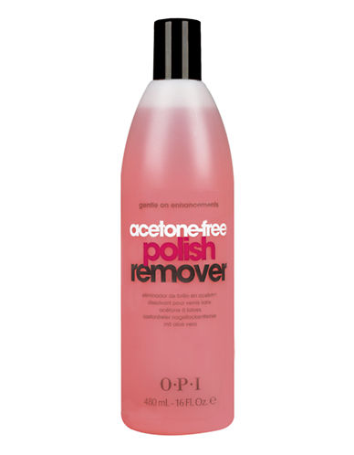 Opi MANICURE AIDS Acetone Free Remover-NO COLOUR-500 ml