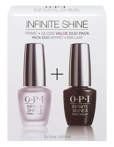 Opi INFINITE SHINE Duo Pack (Primer + Gloss)-NO COLOUR-One Size