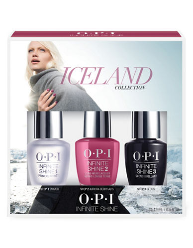 Opi ICELAND COLLECTION Trio Pack Aurora Berry-alis-ASSORTED-One Size