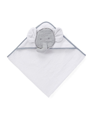 Boker And Laila 3D Elephant Hooded Towel-GREY-One Size
