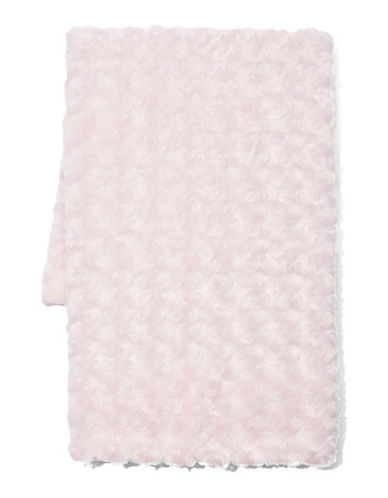 Tendertyme Curly Plush Blanket-PINK-One Size