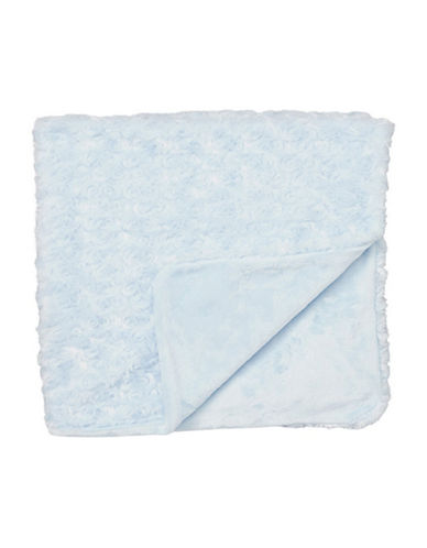 Tendertyme Curly Plush Blanket-BLUE-One Size