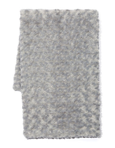 Tendertyme Curly Plush Blanket-GREY-One Size
