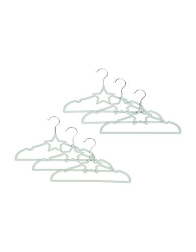 Tendertyme Star Hangers Set-BLUE-One Size