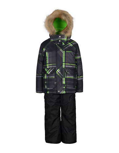 Gusti Boys Six-Piece Parka and Snow Pants Set-BLACK-5