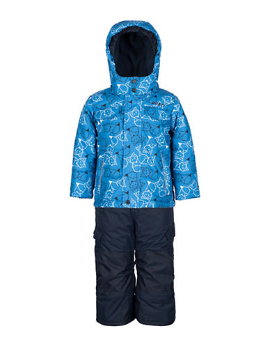 Gusti Boys Six-Piece Jacket and Snow Pants Set-BLUE-3X