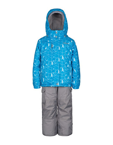 Gusti Girls Six-Piece Jacket and Snow Pants Set-BLUE-12