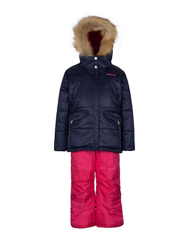 Gusti Girls Six-Piece Parka and Snow Pants Set-BLUE-6X