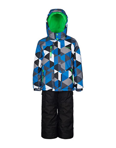 Gusti Boys Six-Piece Jacket and Snow Pants Set-BLUE-6X