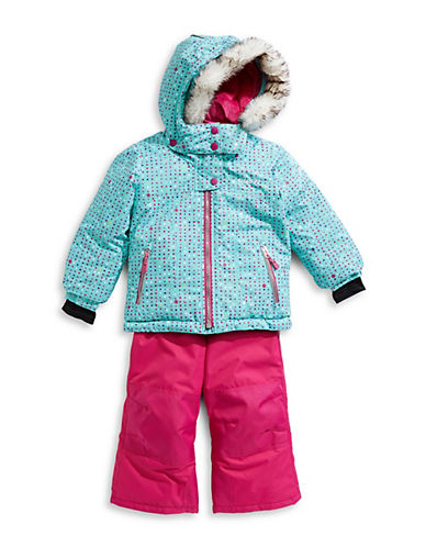 Gusti Little Girl's Five-Piece Faux Fur-Trimmed Hood Snowsuits (Clothing) photo