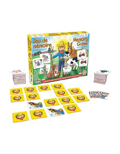 Editions Gladius Friendly Farm Memory Game-YELLOW-One Size
