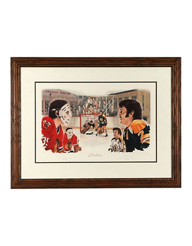 Heritage Hockey Brothers - Tony and Phil Esposito Limited Edition Signed Lithograph-MULTI-One Size
