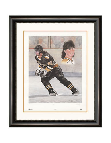 Heritage Hockey Jaromir Jagr Signed Limited Edition Framed Print-MULTI-One Size