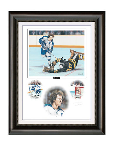 Heritage Hockey Darryl Sittler Signed Limited Edition Framed Print-MULTI-One Size