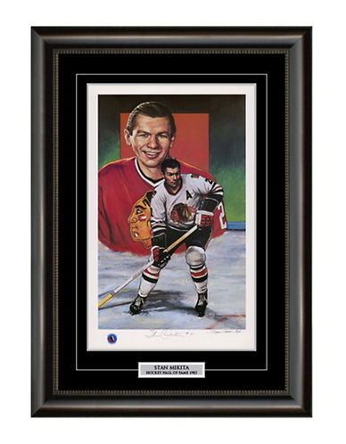 Heritage Hockey Stan Mikita Chicago Blackhawks Signed Limited Edition Framed Print-MULTI-One Size