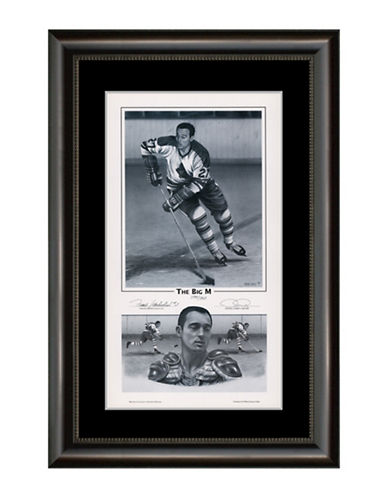 Heritage Hockey The Big M   Frank Mahovlich Signed Limited Edition Framed Print-MULTI-One Size