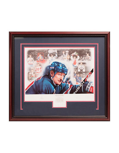 Heritage Hockey Wayne Gretzky 1999 Signed Limited Edition Framed Print-MULTI-One Size