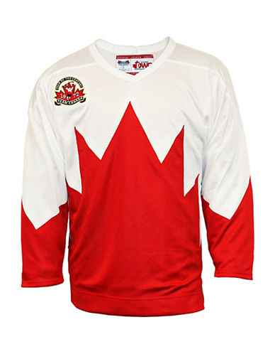 Heritage Hockey Team Canada 1972 Away Replica Jersey-WHITE-XX-Large