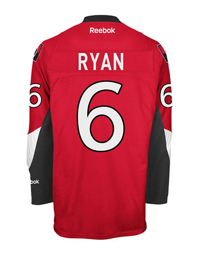 Reebok Bobby Ryan Ottawa Senators Home Jersey-RED-Small
