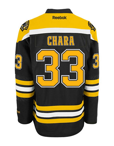 Reebok Zdeno Chara Boston Bruins Home Jersey-BLACK-Small