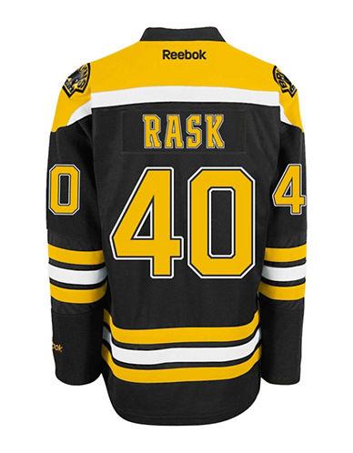 Reebok Tuukka Rask Boston Bruins Home Jersey-BLACK-Small