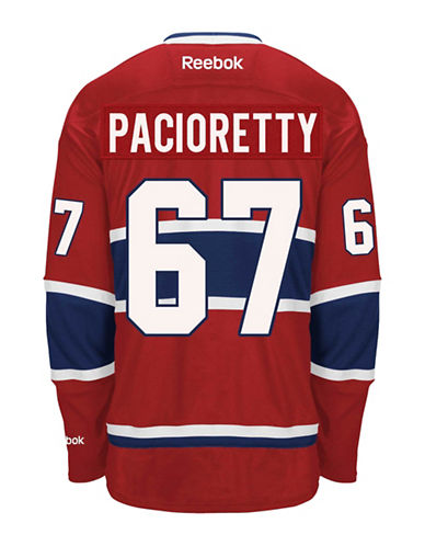 Reebok Max Pacioretty Montreal Canadiens Home Jersey-RED-Medium
