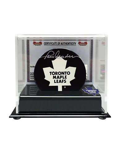 Heritage Hockey Paul Henderson Signed Toronto Maple Leafs Puck-MULTI-One Size