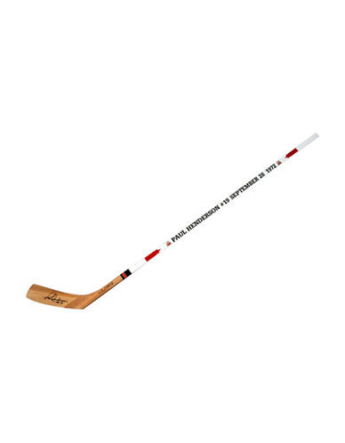 Heritage Hockey Paul Henderson Signed Team Canada 1972 Limited Edition Hockey Stick-MULTI-One Size