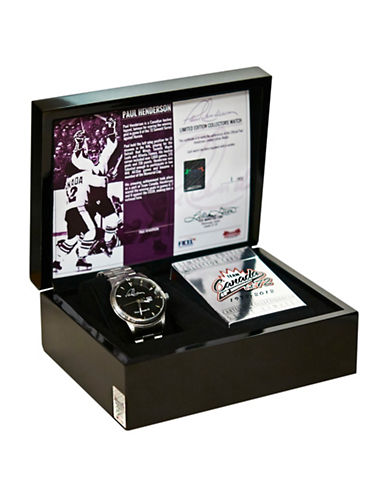 Heritage Hockey Paul Henderson Team Canada 72 Limited Edition Collectors Watch-MULTI-One Size