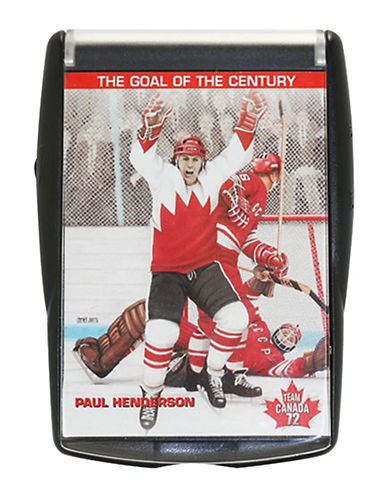 Heritage Hockey Paul Henderson Team Canada 1972 Talking Card-MULTI-One Size