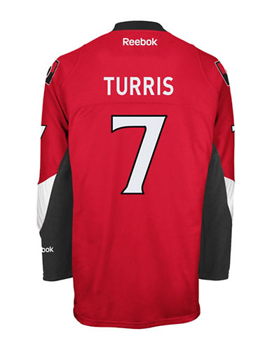 Reebok Kyle Turris Ottawa Senators Home Jersey-RED-Small