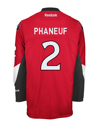 Reebok Dion Phaneuf Ottawa Senators Home Jersey-RED-Small