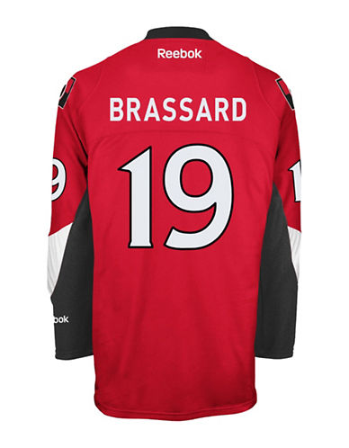 Reebok Derick Brassard Ottawa Senators Home Jersey-RED-Small