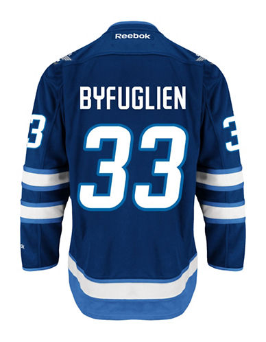 Reebok Dustin Byfuglien Winnipeg Jets Home Jersey-NAVY-XX-Large
