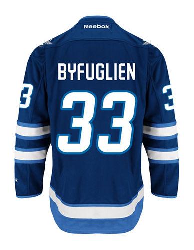 Reebok Dustin Byfuglien Winnipeg Jets Home Jersey-NAVY-Medium