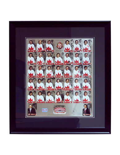 Heritage Hockey Team Canada 72 40th Anniversary Framed Un-Cut Limited Edition Collector Card Set Framed-MULTI-One Size