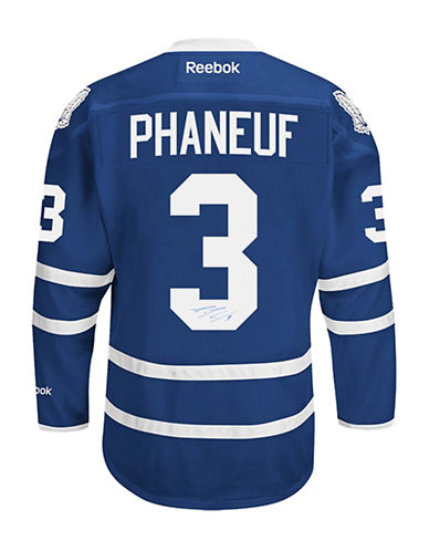 Heritage Hockey Dion Phaneuf Signed Toronto Maple Leafs Jersey-MULTI-One Size