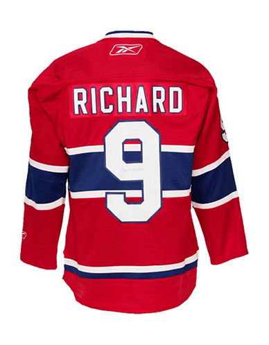 Heritage Hockey Maurice Richard Signed Montreal Canadiens Jersey-MULTI-One Size