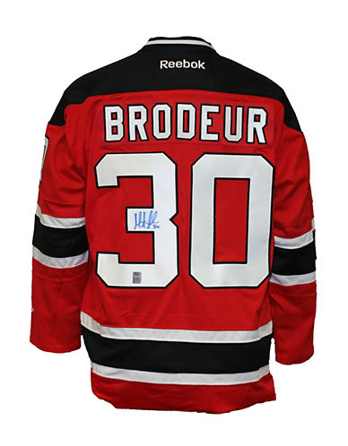 Heritage Hockey Martin Brodeur Signed New Jersey Devils Jersey-MULTI-One Size