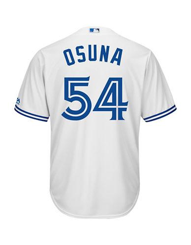Majestic Roberto Osuna Toronto Blue Jays Cool Base Replica Home Jersey-WHITE-Small