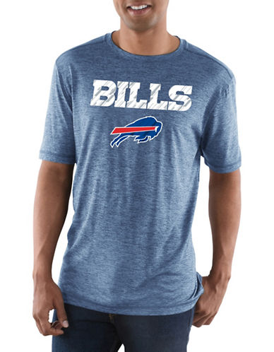 Majestic Buffalo Bills Short Sleeve Tee-BLUE-X-Large 89681869_BLUE_X-Large